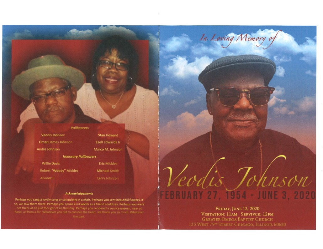 Veodis Johnson Obituary