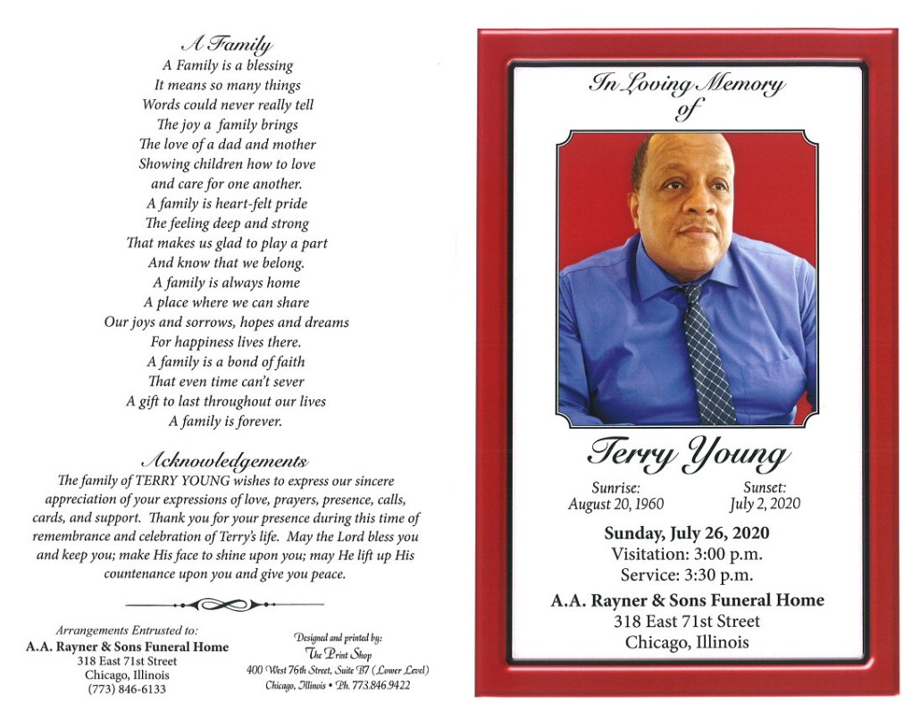 Terry Young Obituary