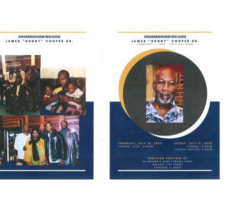 James Cooper Sr Obituary