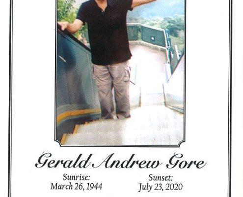 Gerald A Core Obituary