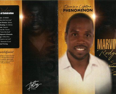 Marvin J Rodgers Obituary
