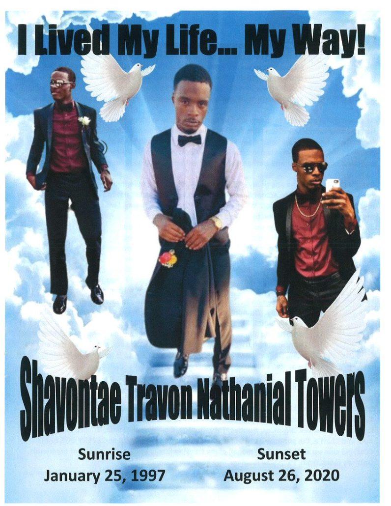 Shavontae Towers Obituary