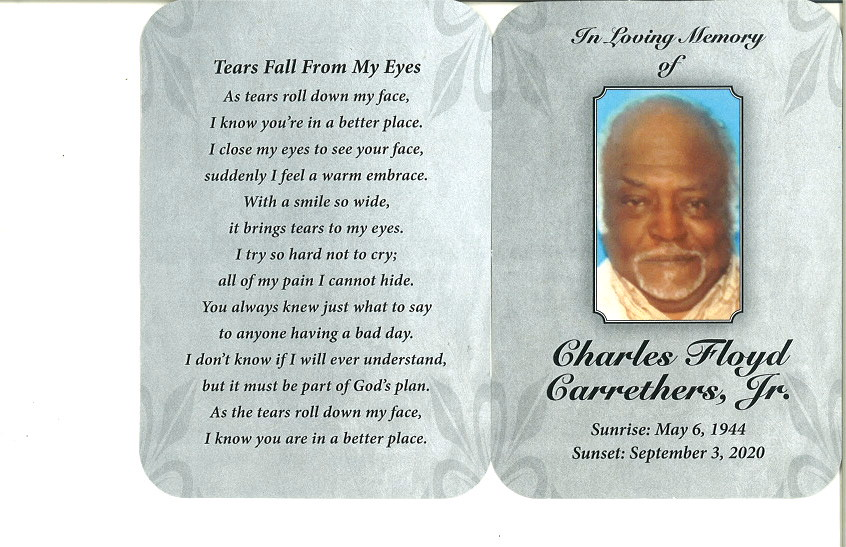 Charles F Carrethers Jr Obituary