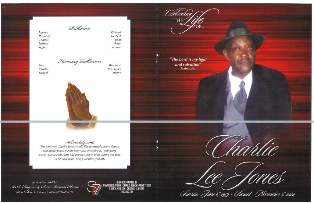 Charlie L Jones Obituary