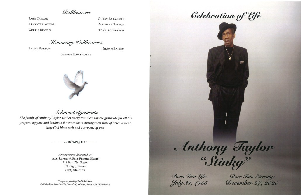 Anthony Taylor Obituary