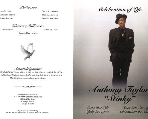 Anthony Taylor Obituary