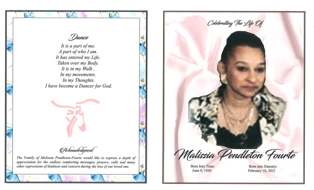Malissia P Fourte Obituary
