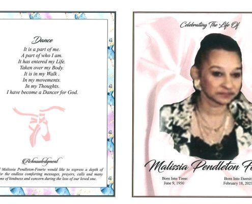 Malissia P Fourte Obituary