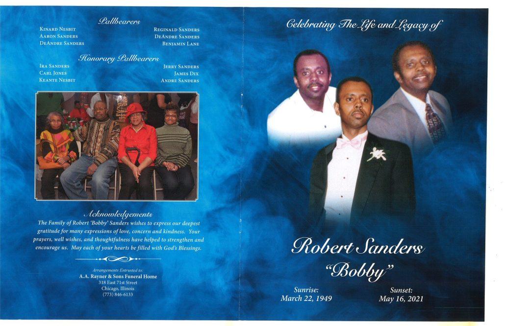 Robert Sanders Obituary