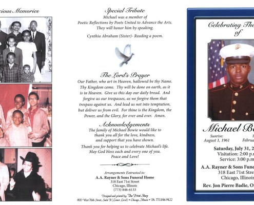 Michael Bowie Obituary