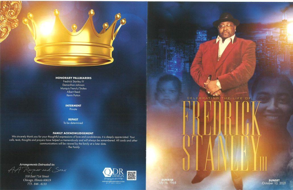 Fredrick Stanley III Obituary