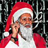 Osama bin Laden as Santa Claus