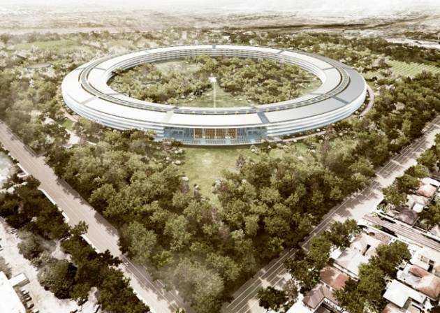 Groene campus van Apple