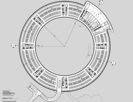 Apple hoofdkantoor grondplan