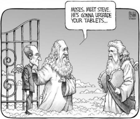 Steve Jobs in de hemel