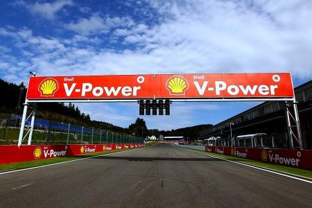 F1 in Spa-Francorchamps