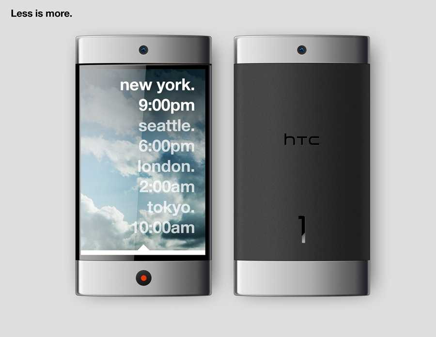 HTC 1: less is more