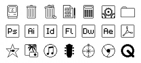 Mac OS Old School iconen
