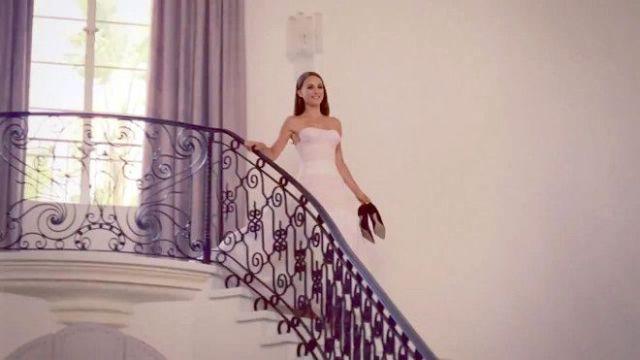 Natalie Portman in a wedding dress