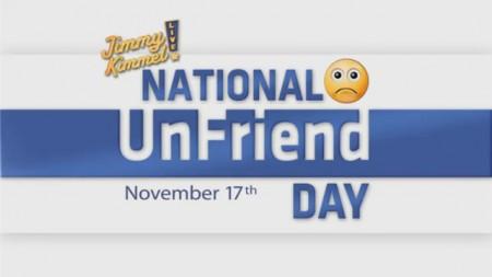 National UnFriend Day