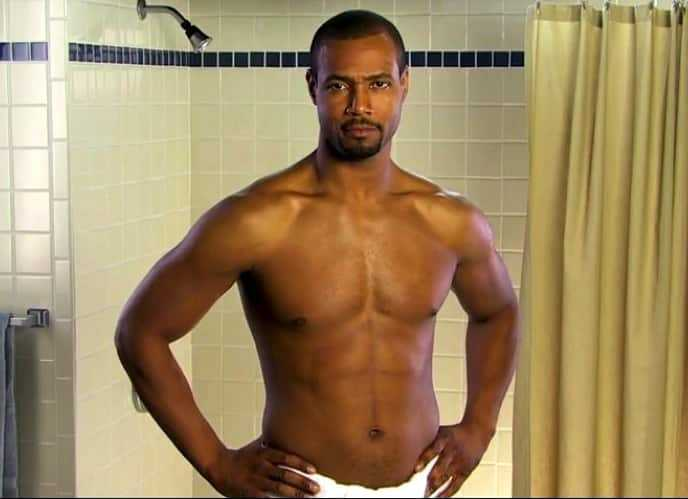 Old Spice guy Isaiah Mustafa