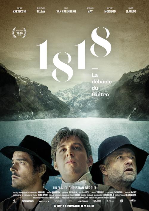 Poster du film 1818 La débacle du Giétro