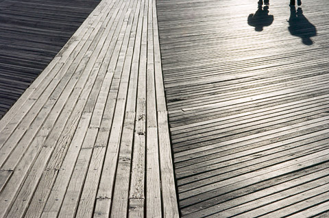Boardwalk (Coney Island, Brooklyn, NY) - 2006-04