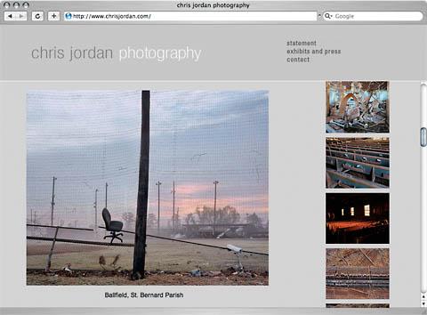 Chris Jordan - screen grab