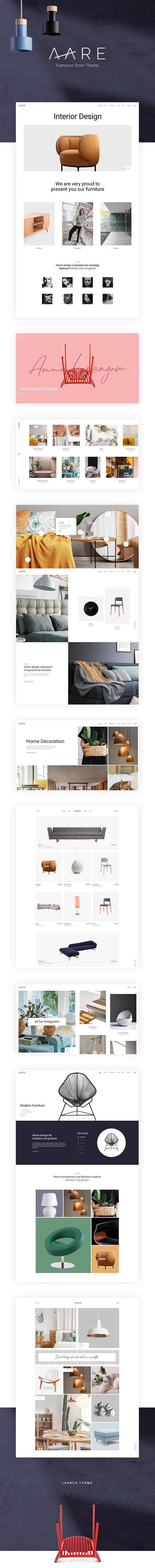 Aare - Furniture Store WordPress Theme - 1
