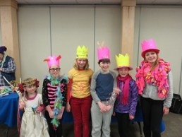 Showing off our crowns