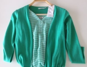 Det grønneste tøj jeg nogensinde har eget!