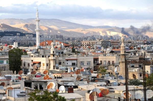 Fedaa og hendes mand boede og arbejde i Damaskus indtil de var nødt til at flygte
