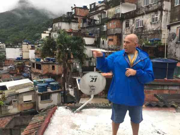 Guidet tur til en af Rios favelas