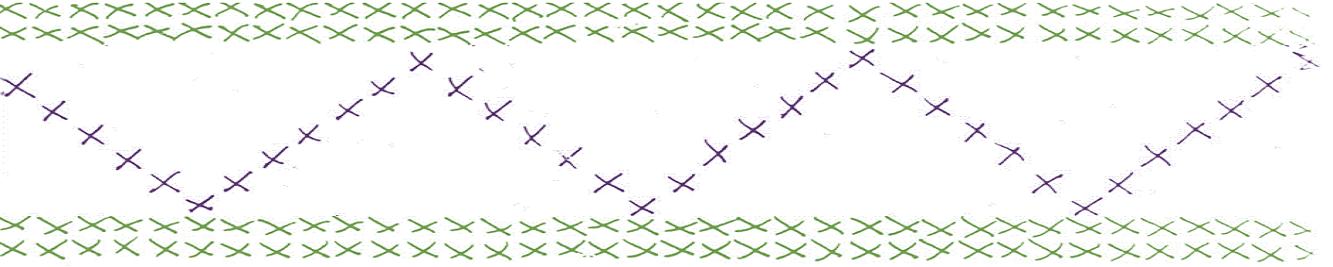 Fagverk_strikk_grønn_lilla_str