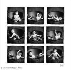 Babyfoto collage