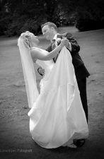 bryllupsfoto sort hvid