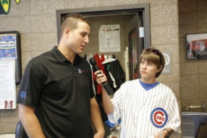 Aaron Hanania interviews Cubs First Baseman Anthony Rizzo July 26, 2015