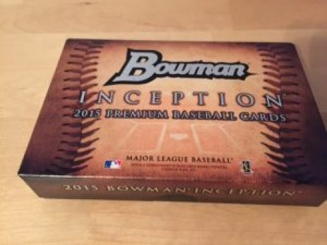 Bowman baseball card box