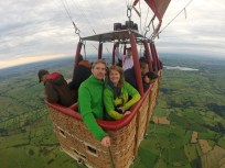 Ballooning over the Peaks