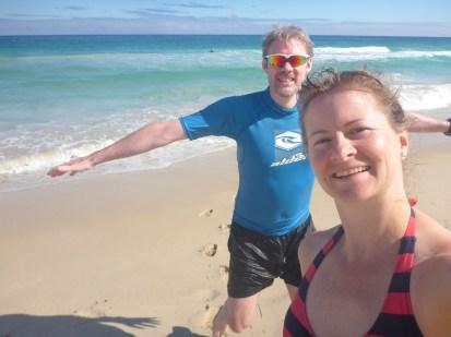 Perth beach, Oz