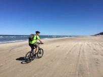 Kandestederne - cycling beach