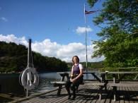 Marivoll camp - (post-swim seat)