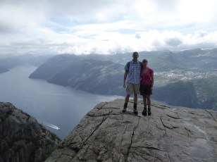 Pulpit Rock - (us on the rock)