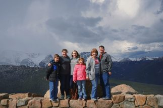 Fuhrman Family At Rainbow Curve