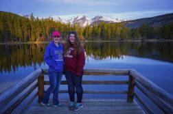 Kaitlyn And Emily At Sprague Lake