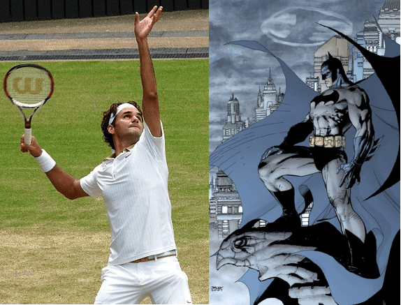 Quiz: Roger Federer or Batman?