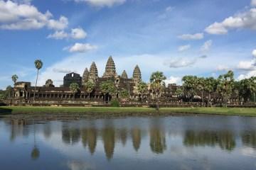 Cambodia, Angkor wat, siem reap, reflection