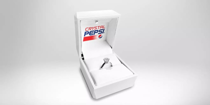 crystal pepsi brand extension ring