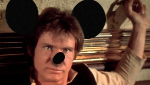 In an alternative Universe, Han Solo is related to Mickey Mouse.