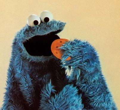 Cookie Monster Loves cookies!!!!!!!
